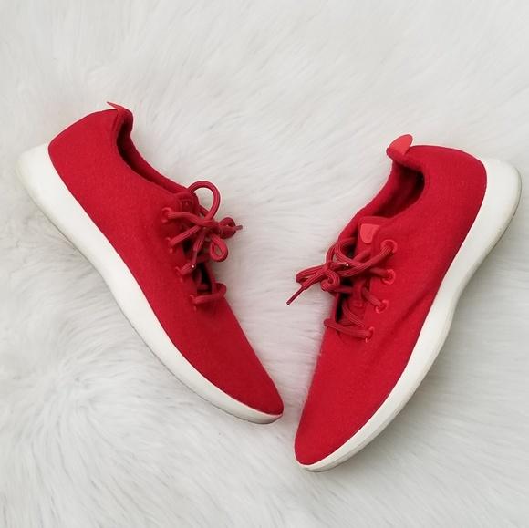 Allbirds Rare Wool Runner Marinara Red